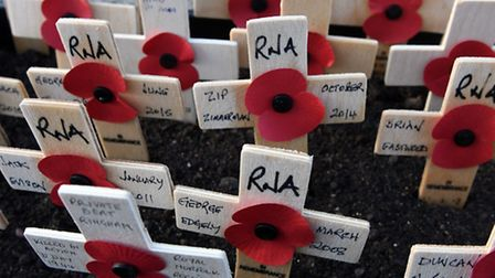 March Remembrance Day Service 2016