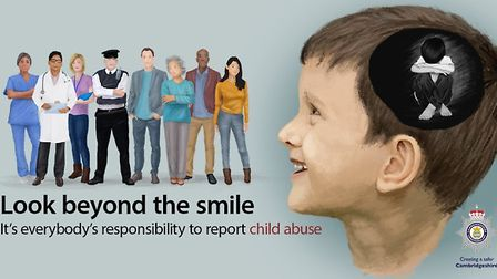 Look behind the smile - A Cambridgeshire Police campaign to urge people to report suspected child ab