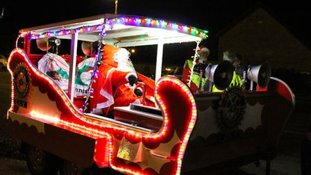Santa Claus is coming to town - thanks to the Ely Rotary Clubs.