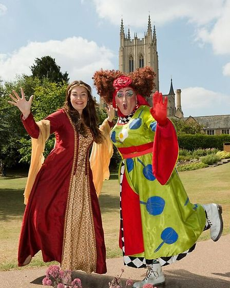 Beauty and the Beast at the Theatre Royal in Bury St Edmunds