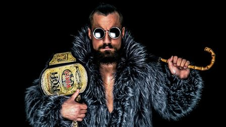 Martin 'Marty' Scurll. Photo: James Musselwight.