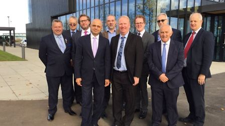 Sajid Javid, Secretary of State for Communities and Local Government with leaders of organisations i