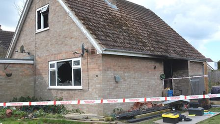 House fire, Queens Road, Somersham,