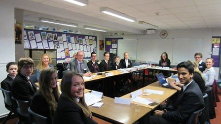 Fenland Youth District Council meeting this week