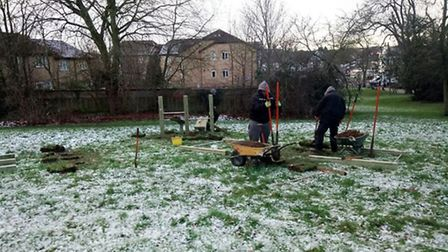 """Fenland Leisure Products, based near Wisbech, tweeted: """"There is #snow stopping us! out in all #Weat"""