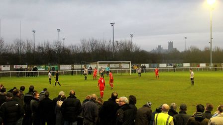 Almost 400 supporters - including over 100 Shepshed fans - saw Ely make club history. Photo: Gary Ho