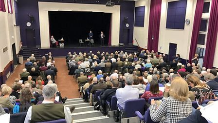 Vicky Ford, MEP, tweeted this photo as Conservative supporters came together in Whittlesey to select