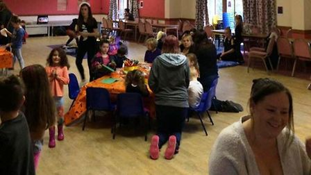 Scamps baby and toddler group, pictured here hosting a Halloween party, is to close next month.