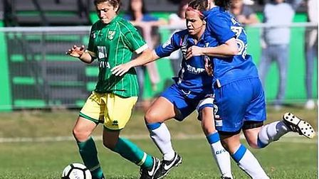 Bishop Laney Sixth Form teams with Norwich City FC to launch girls college football programme
