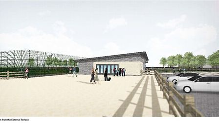 Views of what Estover pavilion is to look like