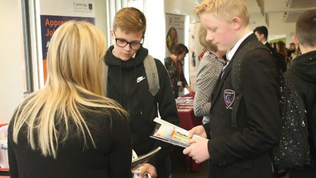 Witchford Village College students found out what is available to them after their GCSEs thanks to A