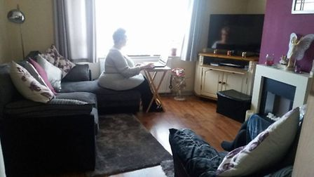 Shirley Kavanagh and Jenny Bond werre told by Roddons they have too much furniture in their front ro