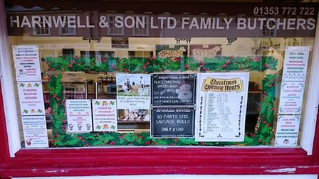 Harnwell & Son Family Butchers was broken into earlier this week.