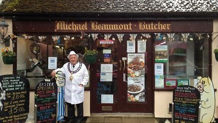 Michael Beaumont Butchers in Fulbourn.