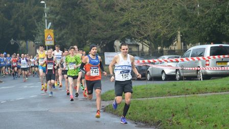 The Ely New Year's Eve 10k.