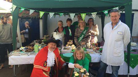 Claire Reeve hosted her 16th annual Macmillan Coffee Morning.