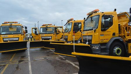 Full gritting service restored mid to late January says county council