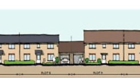Agents for Tesco have offered this illustration of what the new homes for Whittlesey would look like