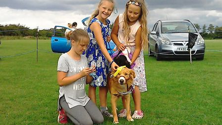 One of Ricky Coster's previous fun dog shows which was held at Emneth raises money for Galgos Del So