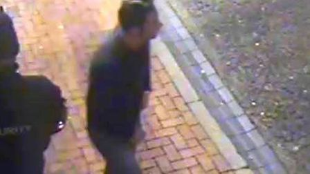 Police would like to speak to this man in connection with an assault in Ely.