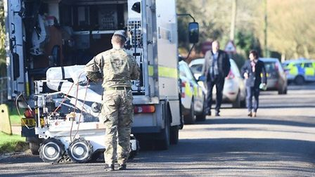 A suspicious device was found at Boughton Surgery in January 2016. Picture: Ian Burt