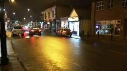 The assault happened on Station Road, March