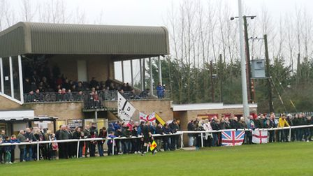386 supporters took in Ely's 3-0 success - the highest ever attendance at a competitive game at the