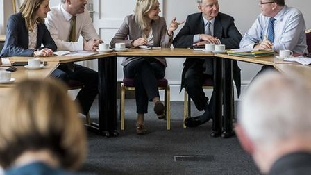 A round table meeting was held at Downham Market Town Hall to discuss the future of the Ely North Ra