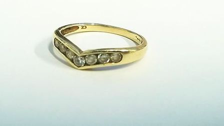 Ring found on Market Street, Ely
