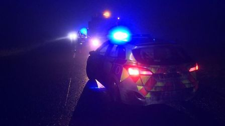 A141 incidents near March today (January 25)