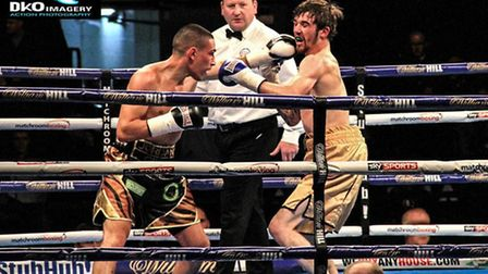 Gill will now have to wait even longer for hist first fight since his points victory over Chris Adaw