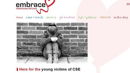 Embrace CVOC, a charity dedicated to helping young victims of sexual violence, is in a joint partner