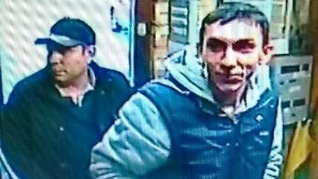 Do you recognise these two men? Police want to speak to them about £4,500 jewellery theft in Watersi