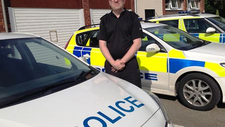 Sergeant Phil Priestley of Ely Police Station. PHOTO: Seb Pearce