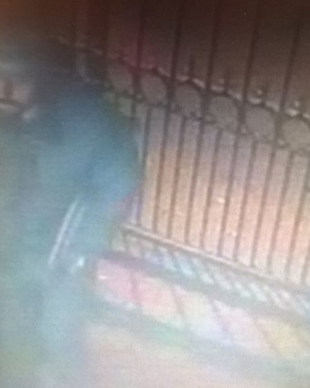Police have released CCTV images of this man they would like to speak to in connection with an incid
