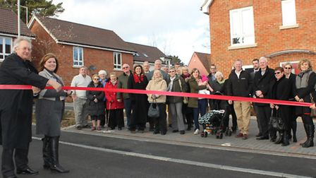 Councillor Julie Redfern, Uttlesford District Council cabinet member for housing, and council chairm