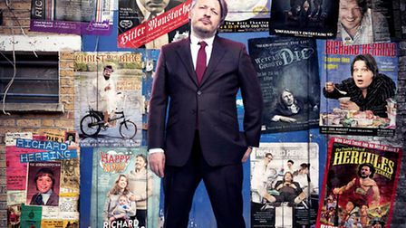 Stand-up comedian Richard Herring is coming to the Theatre Royal in Bury St Edmunds this weekend. PH