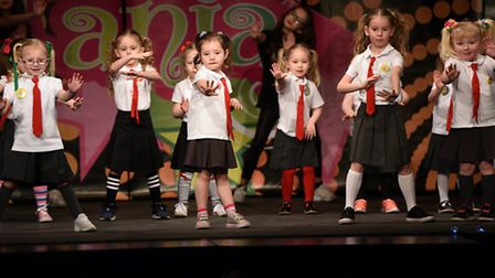 Over 80 singers and dancers took part in the four shows put on by Dance Mania of March during the we