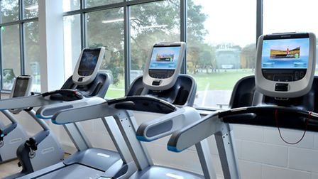 George Campbell Leisure Centre, March, which has recently been revamped. PHOTO: Steve Williams.