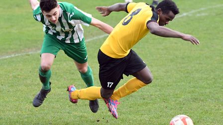 Alfa Jalo failed to fire March Town's first goal in five weeks as the Hares were beaten 1-0 by Whitt
