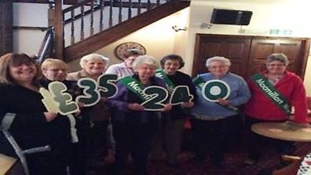 The Macmillan Wisbech fundraising group has had an exceptional year and have raised over £35k in 201