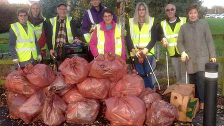 Wisbech Street Pride will be holding a litterpick around the Hudson centre on March 3.