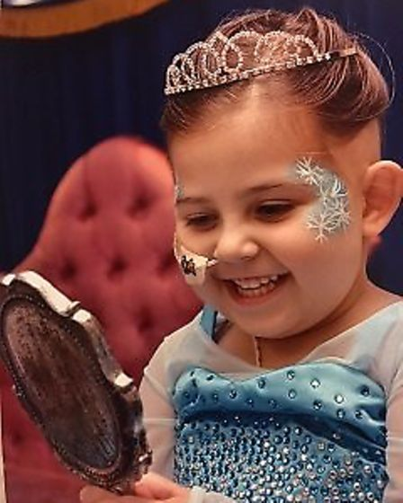 Mikayla Clark of Stonea died of a rare brain tumour aged just four.actor run
