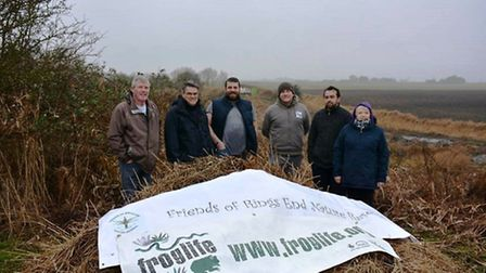 £12,000 funding for new ponds at Rings End nature reserve.Froglife has joined forces with Friends of