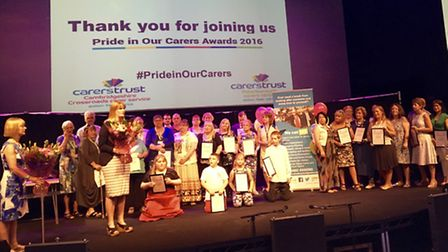 Pride in our Carers Cambridgeshire - winners 2016