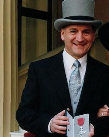 Nick Charles was made an MBE for his servies to alcohol treatment. PHOTO: Supplied.