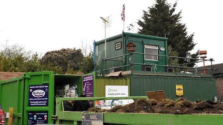 The Household recycling centre in Wisbech is among those to close today (February 23) due to high wi