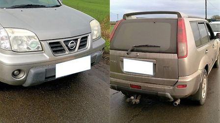 Police asked two people to leave the county after reports of hare coursing in Pymoor on Wednesday Fe