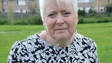 Cllr Virginia Bucknor independent town and district councillor for Waterlees Village wants help in a