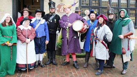 Oliver Cromwell House Historical Fayre.